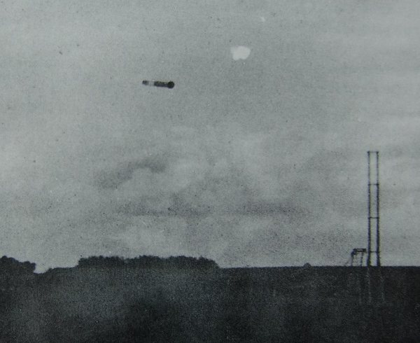 The fourth test launch of the Magdeburg Rocket, which was actually the most successful of the early tests despite only travelling 300 meters--horizontally.